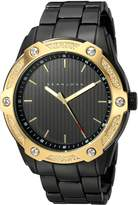 Sean John Men's ' Quartz Metal and Alloy Dress Watch, Color: (Model: SJC0174004)