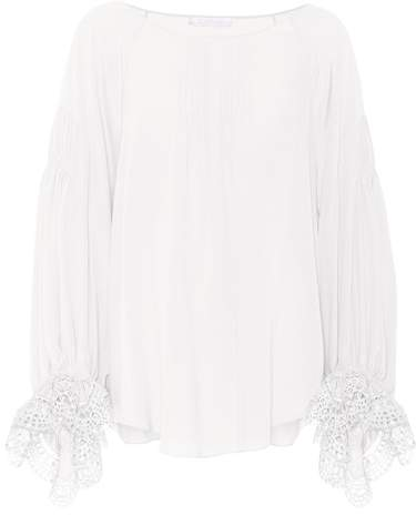 Chloé Exclusive to mytheresa.com – silk blouse