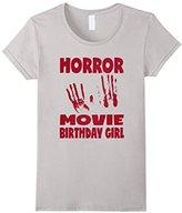Kids Horror Movie Birthday Girl Retro Monster Ghost Demon T-Shirt 6