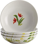 Bonjour Meadow Rooster Fruit Bowls (Set of 4)