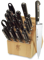 "Zwilling J.A. Henckels Professional ""S"" 21-Piece Knife Block Set"