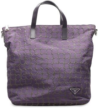 Prada Pre-Owned pre-owed Tessuto tote bag