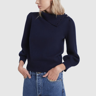 Co Button-Neck Sweater