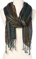 Big Buddha Cool Thick 'n' Thin Metallic Mix Yarn Day Scarf