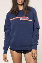 Spiritual Gangster Retro Lines Sweatshirt