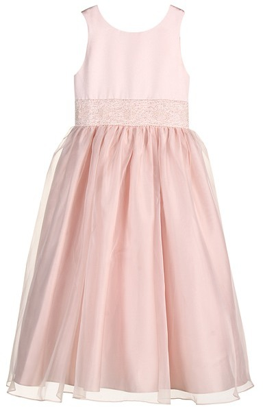 Us Angels Crystal Band Dress (Little Kids)