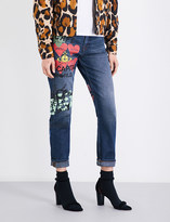 Anglomania Skytte boyfriend-fit cropped high-rise jeans