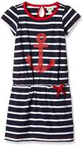 Hatley Girl's Girls Drop Waist Nautical Anchors Dress
