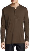 Helmut Lang Long-Sleeve Henley Shirt