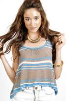 Eternal Sunshine Creations Bianca Stripe Short Flare Tank.