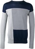 Diesel Black Gold striped sweatshirt - men - Cotton - S