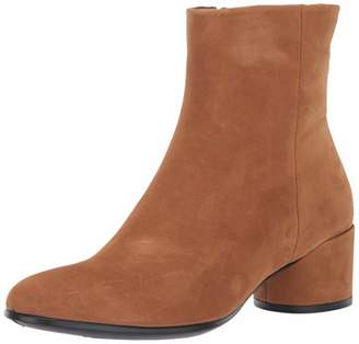 Ecco Women's Shape 35 Mod Block Ankle Boots, Brown (Bast 2033)
