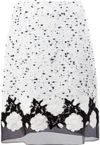 Giambattista Valli tulle hem skirt - women - Silk/Cotton/Polyamide/Virgin Wool - 40