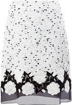 Giambattista Valli tulle hem skirt - women - Virgin Wool/Polyester/Polyamide/Silk - 40