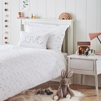 The White Company Wild Horse Bed Linen Set, Multi, Cot Bed