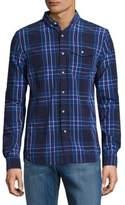 Superdry Plaid Cotton Button-Down Shirt