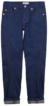 LANVIN KIDS Dark-Wash Cuffed Jeans (4-14 Years)