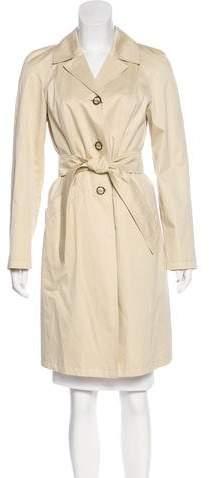 Giorgio Armani Belted Twill Coat
