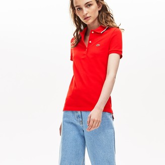 Lacoste Women's Slim Fit Cotton Petit Pique Polo