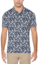 Perry Ellis Short Sleeve Speckle Polo