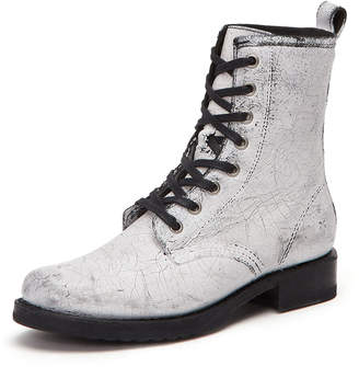 Frye Veronica Painted Leather Combat Boots