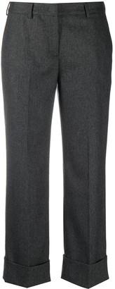Lardini Cropped Tailored Trousers
