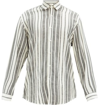Marrakshi Life - Striped Cotton-canvas Shirt - Cream Multi