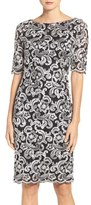 Eliza J Women's Embroidered Lace Sheath Dress