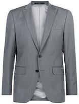 Jaeger Wool Twill Regular Fit Suit Jacket, Grey