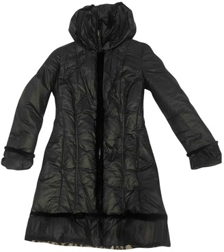 Roberto Cavalli Black Trench Coat for Women