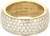 One Kings Lane Vintage Cartier Classic 5 Row Diamond Ring