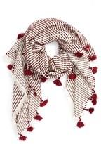 Madewell Women's Zigzag Tassel Scarf