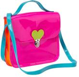 Gap Colorblock neon messenger bag