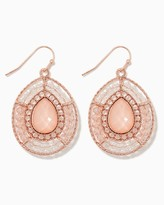 Charming charlie Happy Hour Teardrop Earrings