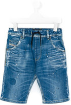 Diesel Krooley J denim shorts - kids - Cotton/Spandex/Elastane - 2 yrs