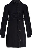 Sonia Rykiel Multi-knit wool-blend cardigan