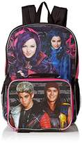 Disney Girls' Descendants Backpack with Lunch Kit