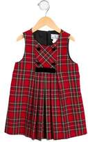 Florence Eiseman Girls' Sleeveless Plaid Dress