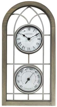 FirsTime & Co. Farmhouse Arch Outdoor Clock
