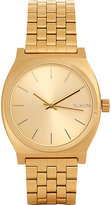 Nixon Men's Time Teller Watch-GOLD