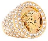 Versace Bague ornée de cristaux Medus