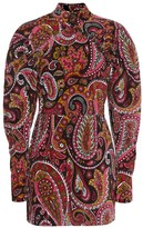 Rotate by Birger Christensen Paisley cotton minidress
