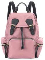 Burberry The Rucksack Medium leather-trimmed backpack