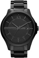Armani Exchange Stainless Steel 3 Hand Smart Watch