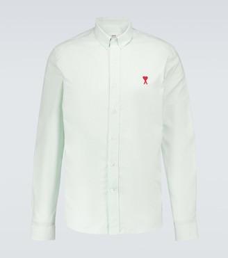 AMI Paris Ami de Coeur long-sleeved shirt