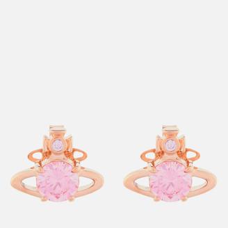 Vivienne Westwood Women's Reina Earrings - Pink Gold/Pink