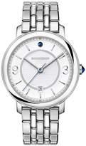 Boucheron Steel Sapphire Epure Classic Creation Watch 42mm
