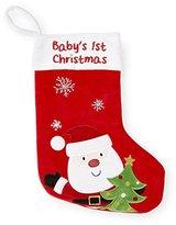 "Koala Baby Baby's First Christmas"" Stocking (Red)"
