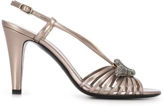 Valentino Garavani snake embellished sandals