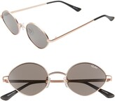 Quay Wild Night 55mm Teardrop Sunglasses